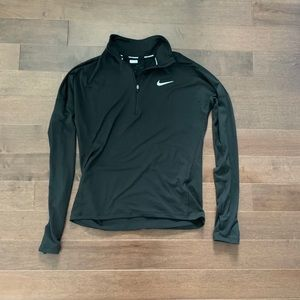NIKE Quarter Zip Long Sleeve